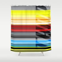 thor Shower Curtains featuring Thor by Jordan Creative