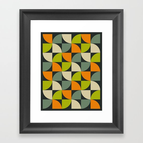 CONNECTIONS #12 Framed Art Print