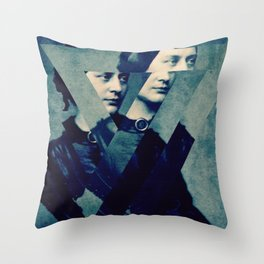 TheDecomposed Composer Clara Wieck Throw Pillow