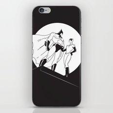 The Night is Dark iPhone Skin