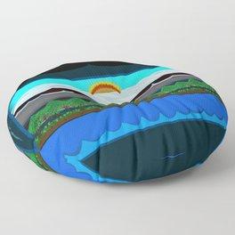 Horizon #42 Floor Pillow