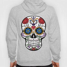 Colorful Sugar Skull Hoody