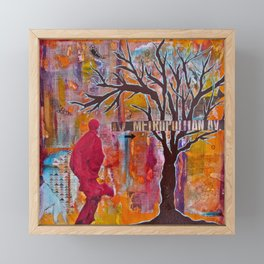 Finding My Way (The Path to Self Discovery/Actualization) Framed Mini Art Print