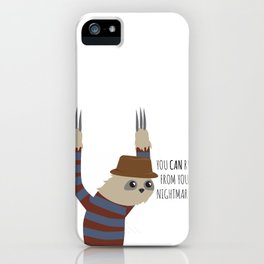 You Can Run iPhone Case