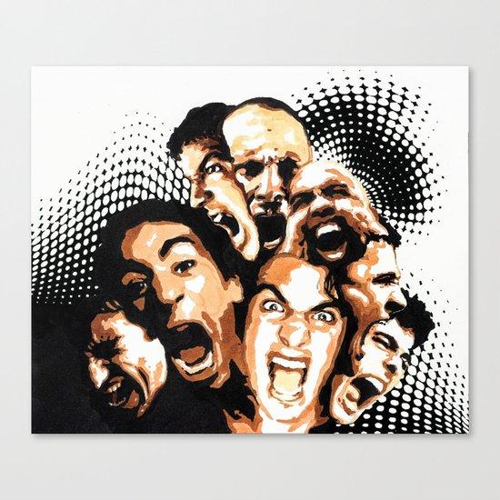 Shout Canvas Print