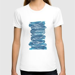 water, wave T-shirt