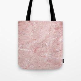 Blush Pink Marble Tote Bag