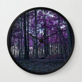 Fantasy Forest Wall Clock