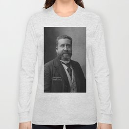 Portrait of Jean Jaurès By Nadar Long Sleeve T-shirt