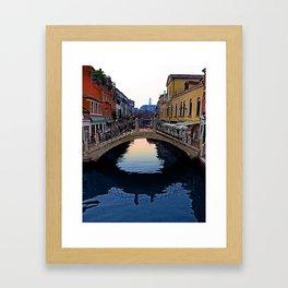 Venice, Italy Morning Framed Art Print