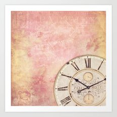 AS TIME GOES BY ... III Art Print