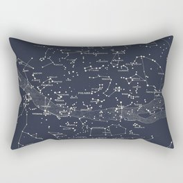 Carte du Ciel I Rectangular Pillow