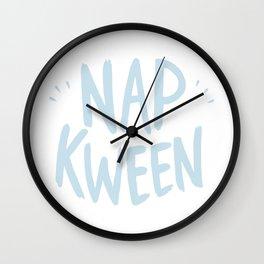 Nap Kween Wall Clock