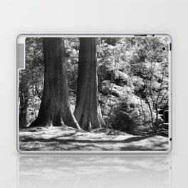 Two trees stand together in Japanese Garden Laptop & iPad Skin