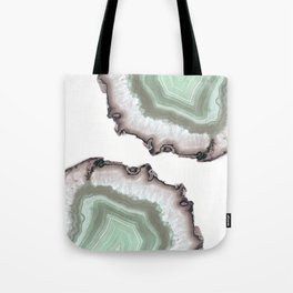 Light Water Agate Tote Bag