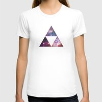 triforce T-shirts featuring Cosmic Triforce by Spooky Dooky