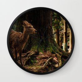Nara Deer Wall Clock