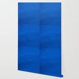 Abstract blue shades.   Like painted on canvas. Wallpaper