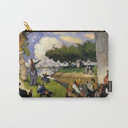 "Paul Cezanne ""The Fishermen (Fantastic Scene)"" Carry-All Pouch"