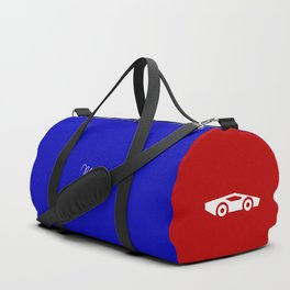 Two sportscars, color backgrounds Duffle Bag