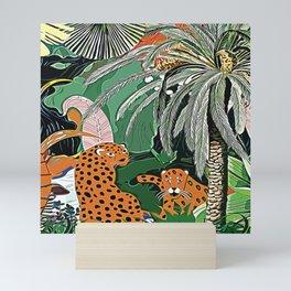 In the mighty jungle Mini Art Print