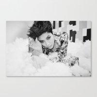 shinee Canvas Prints featuring Taemin - SHINee by Felicia