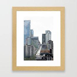 Richmond Street View Framed Art Print