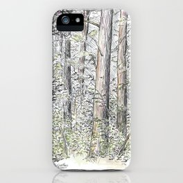 Tree Aspects 4 iPhone Case