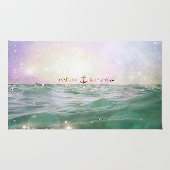 Refuse To Sink Rug