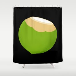 I'm Just Coconut About You Shower Curtain