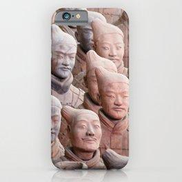 Xian Terracotta Warriors iPhone Case