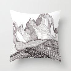 Patterns on Patagonia Throw Pillow
