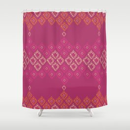 Moroccan Geo Shower Curtain