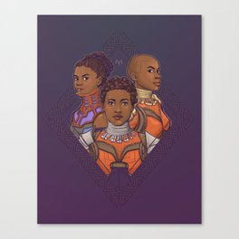 Wakanda Women Canvas Print