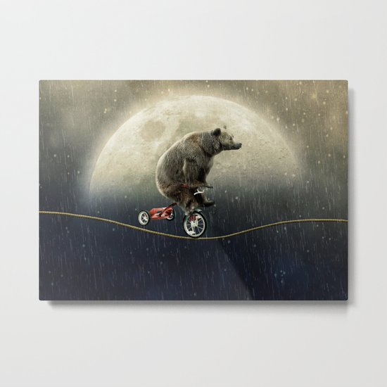 balancing act (under the weather) Metal Print