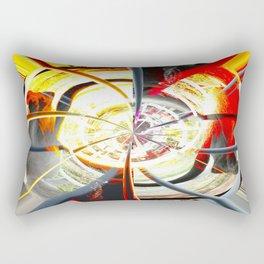 Gamma Rays Rectangular Pillow