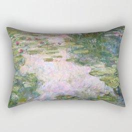 Claude Monet - Water Lilies Rectangular Pillow