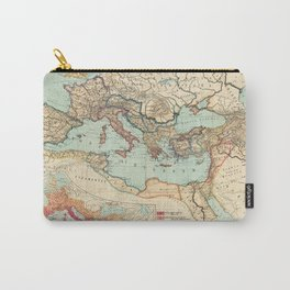 Vintage Map of The Roman Empire (1889) Carry-All Pouch