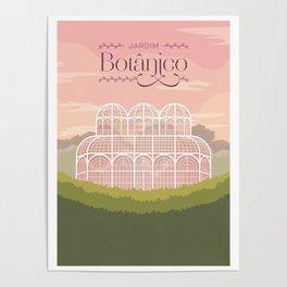 Curitiba - Jardim Botânico Poster