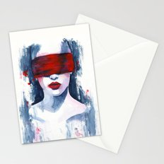 Blind love is  Stationery Cards