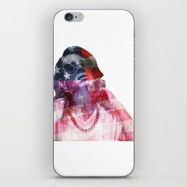 Lana Del Art (Stone American Flag) iPhone Skin