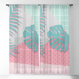 Santa Monica #society6 #decor #buyart Sheer Curtain