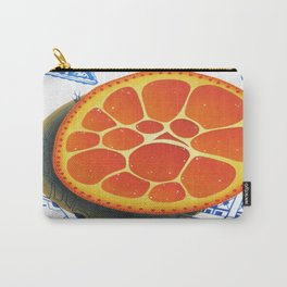 Orange on plate made where they speak Mandarin Carry-All Pouch