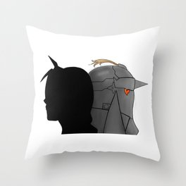 The Brothers -- Version 1 Throw Pillow