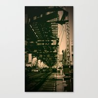 brooklyn Canvas Prints featuring Brooklyn by metalmind