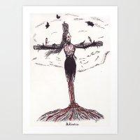 Adiectio Art Print
