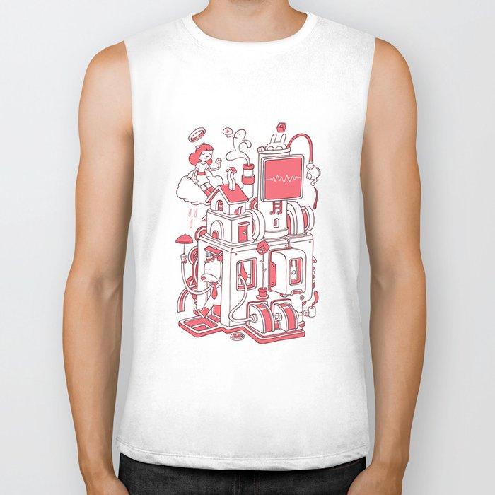 Red house Biker Tank