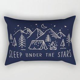 Sleep under the stars Rectangular Pillow