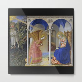 "Fra Angelico,"" The Annunciation "" Metal Print"