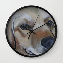 Josie (blue) Wall Clock